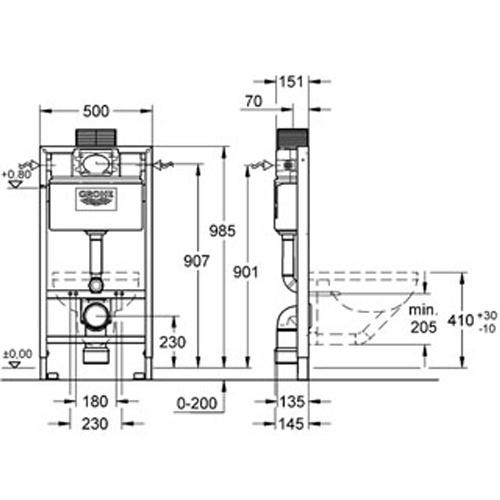 עדכון מעודכן מיכל הדחה סמוי גבוה – סיון קרמיקה אולם תצוגה IG-76
