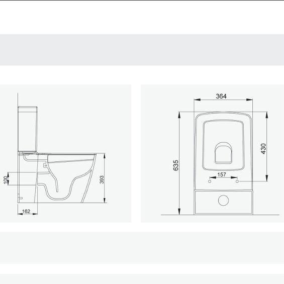מסודר מונובלוק LUNA – סיון קרמיקה אולם תצוגה YA-92